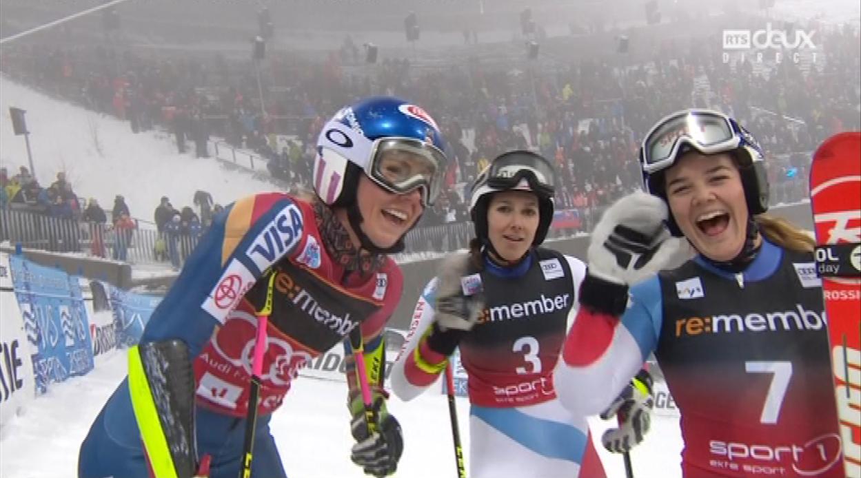 Shiffrin invincible en slalom parallèle à Oslo