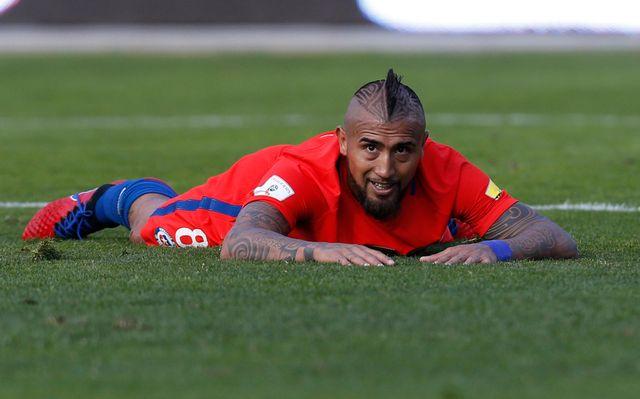 La non-qualification de Vidal et du Chili pour la Mondial 2018 a fait des heureux e Argentine. [Juan Karita - Keystone]