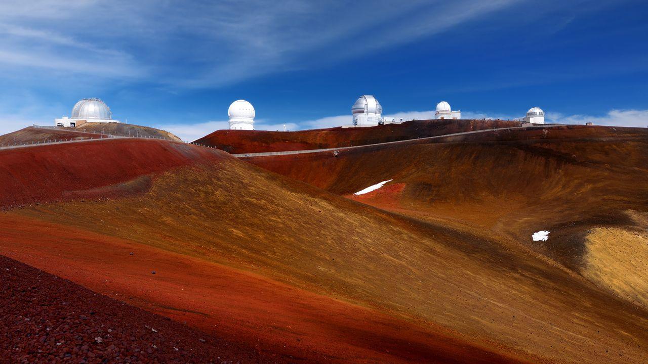 Les observatoires de Mauna Kea, à Hawaii. [MNStudio - Fotolia]