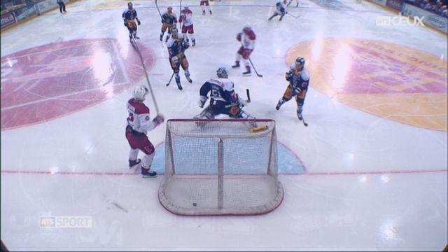 Hockey-NL, 36e journée: Zoug-Lausanne (6-3) [RTS]