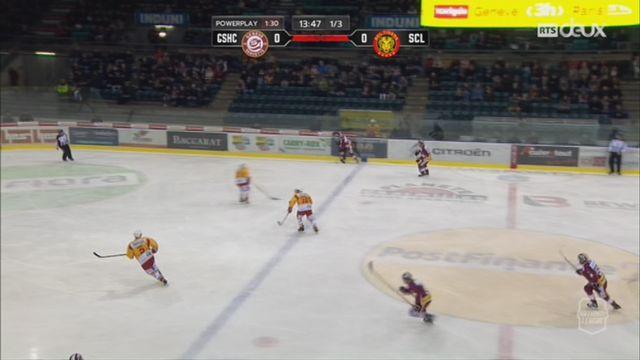 Hockey-NL, 36e journée: Genève - Langnau (4-2) [RTS]