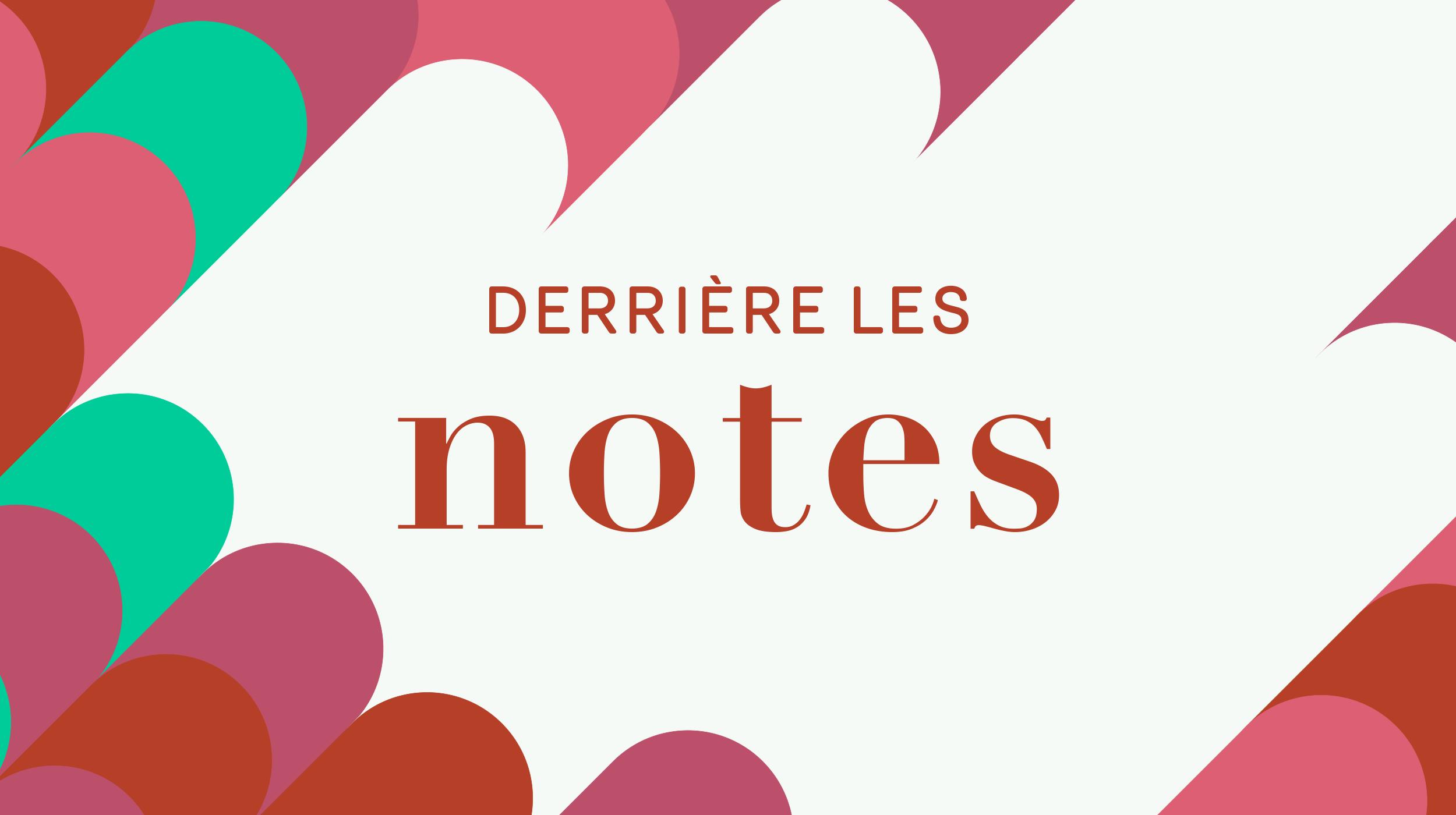 Logo Derrière les notes [RTS]