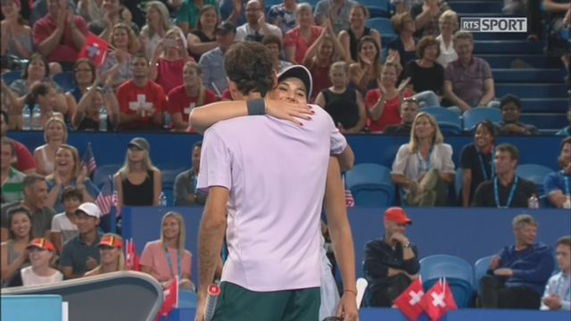 Suisse - Etats-Unis, Bencic-Federer – Vandeweghe-Sock (4-3, 4-2) [RTS]