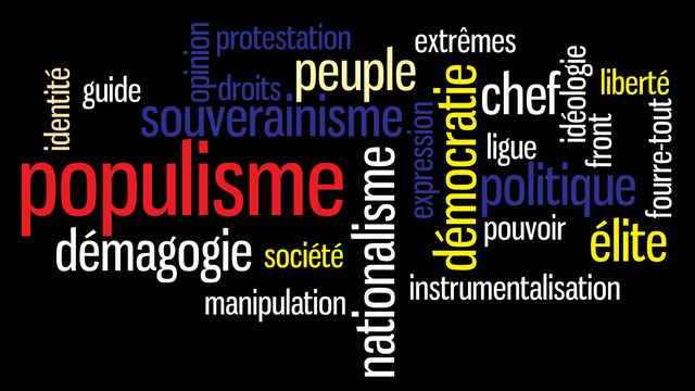 Populisme [Vector Art Design - Fotolia]