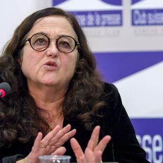 Solange Ghernaouti, directrice du Groupe de conseil et de recherche en cybersécurité suisse de l'Université de Lausanne. [Martial Trezzini - Keystone]