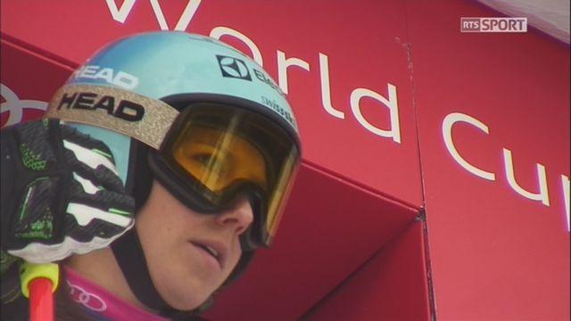 Maribor (SLO), géant dames, 1re manche: Wendy Holdener (SUI) termine avec 1.86 de retard et prend la huitième place [RTS]