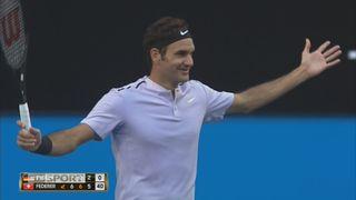 Allemagne - Suisse, Zverev battu par Federer ( 7-6 0-6 2-6 ) [RTS]