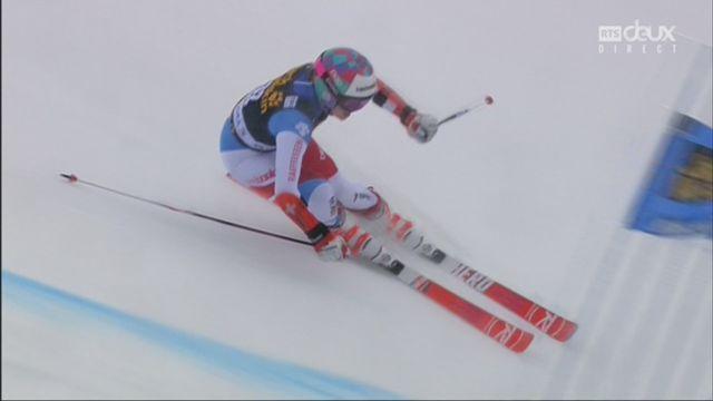 Kranjska Gora (SLO), géant dames, 2e manche: la descente de Michelle Gisin [RTS]