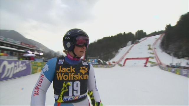 Kranjska Gora (SLO), géant dames, 2e manche: la descente de Simone Wild [RTS]