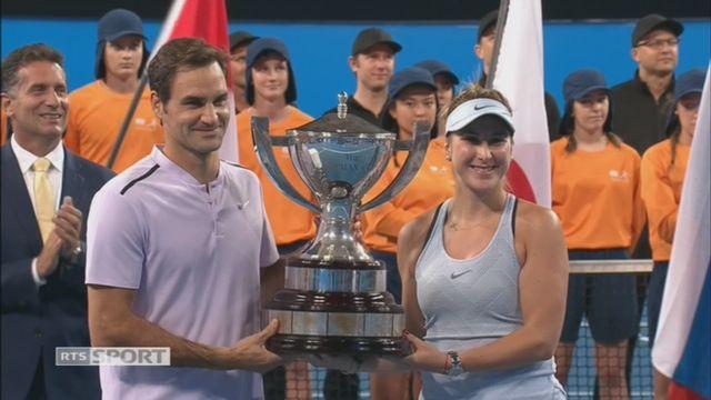 Allemagne - Suisse, Kerber et Zverev battus par Bencic et Federer (3-4, 2-4) [RTS]