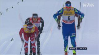 15 km messieurs, Val di Fiemme (ITA): victoire de Poltoranin (KAZ), Cologna (SUI) 4e [RTS]