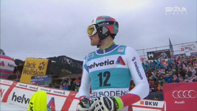 Adelboden (SUI), slalom masculin, 2e manche: Daniel Yule (SUI) [RTS]