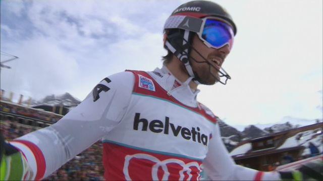 Adelboden (SUI), slalom masculin, 2e manche: Marcel Hirscher (AUT) s'impose ! [RTS]