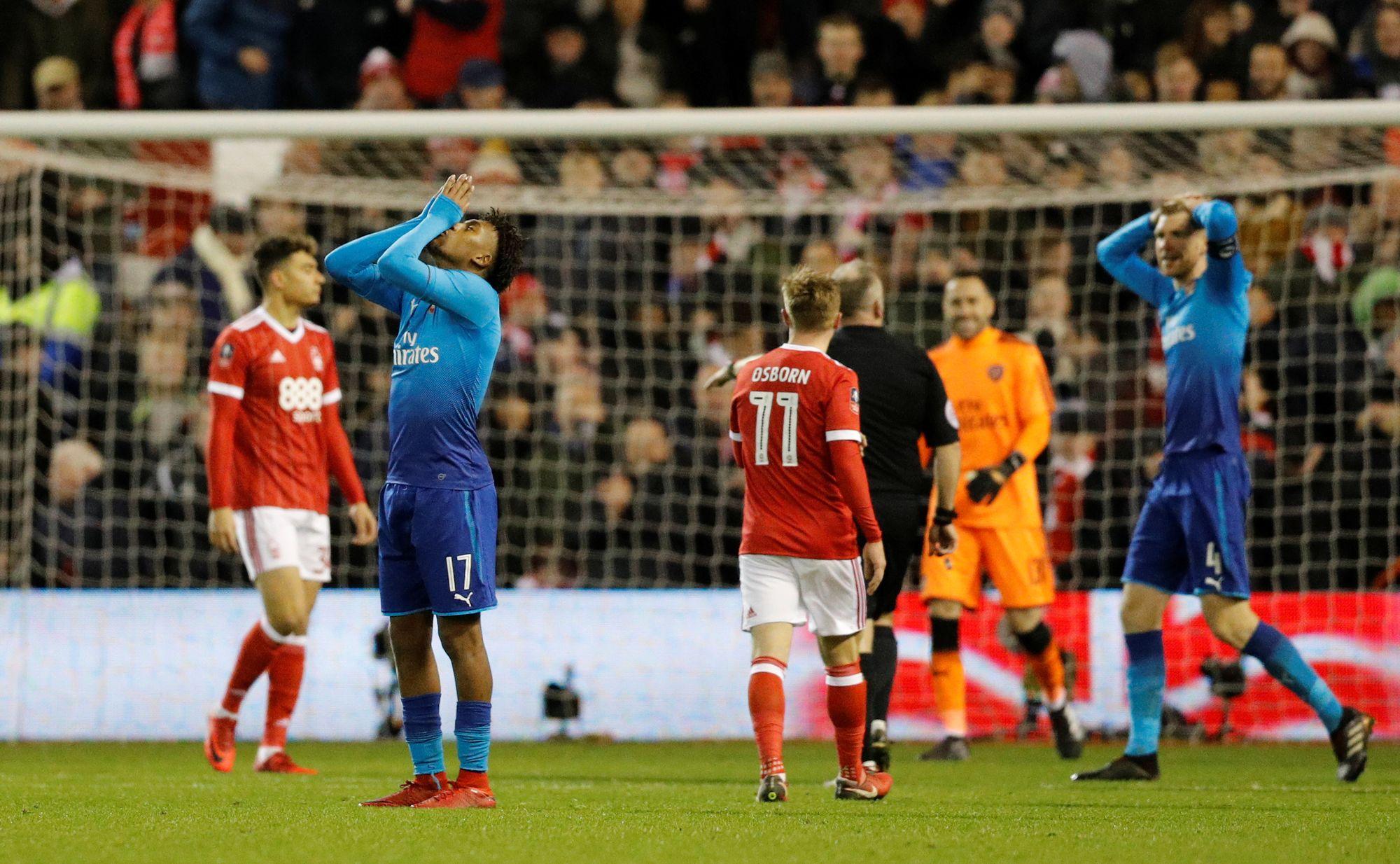 Une mauvaise journée pour Arsène Wenger et ses boys — FA Cup