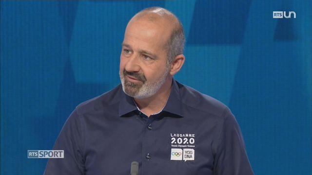Lausanne 2020: entretien avec Ian Logan, directeur général JOJ [RTS]