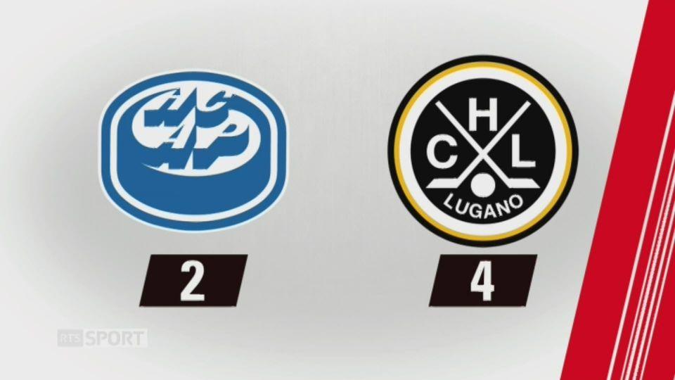 37e journée, Ambri - Lugano (2-4): tous les buts de la rencontre [RTS]