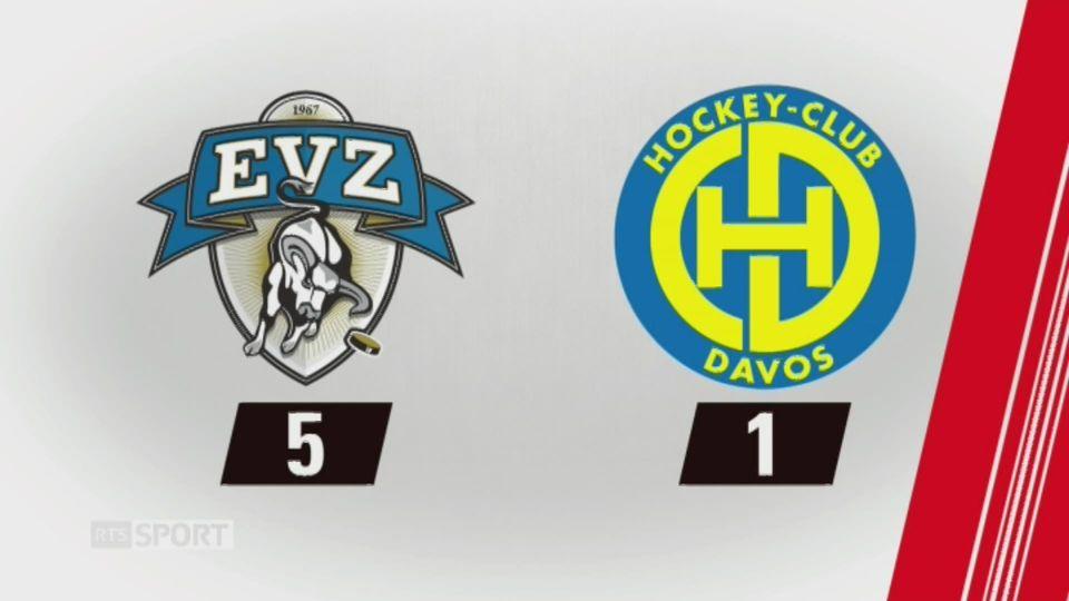 37e journée, Zoug - Davos (5-1): tous les buts de la rencontre [RTS]