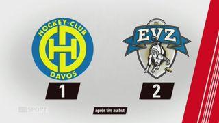 38e journée, Davos - Zoug (1-2 pen.): tous les buts de la rencontre [RTS]