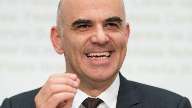 Le président de la Confédération Alain Berset. [Peter Schneider - Keystone]