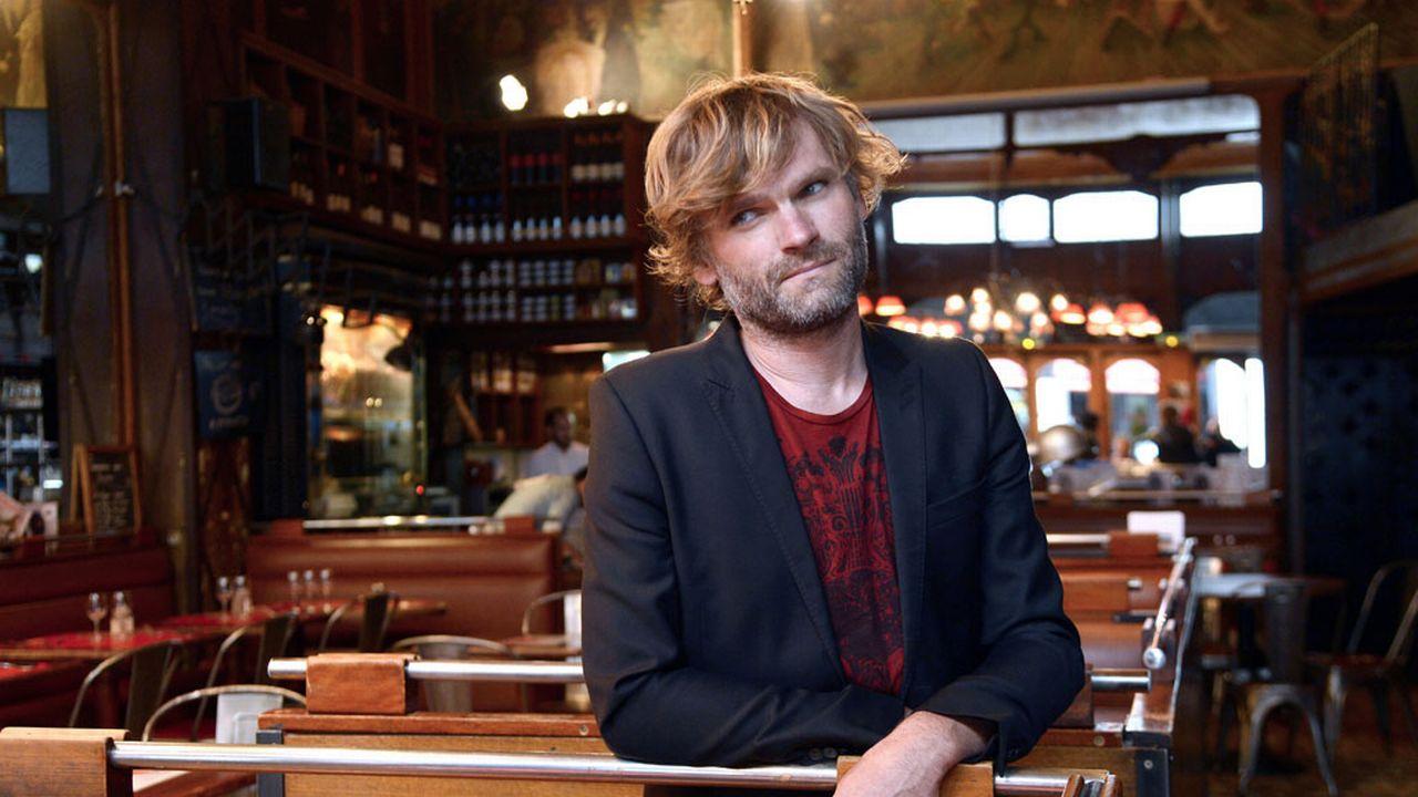 L'auteur français Olivier Adam. [Bertrand Guay - AFP]