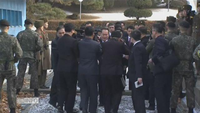Les deux Corées se reparlent, une 1ère en deux ans [RTS]