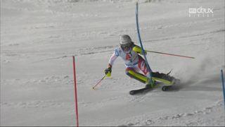Flachau (AUT), Slalom dames, 1re manche: Wendy Holdener (SUI) éliminée en première manche [RTS]