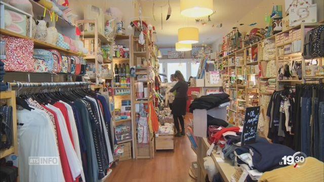 Le commerce de détail souffre des achats en ligne [RTS]