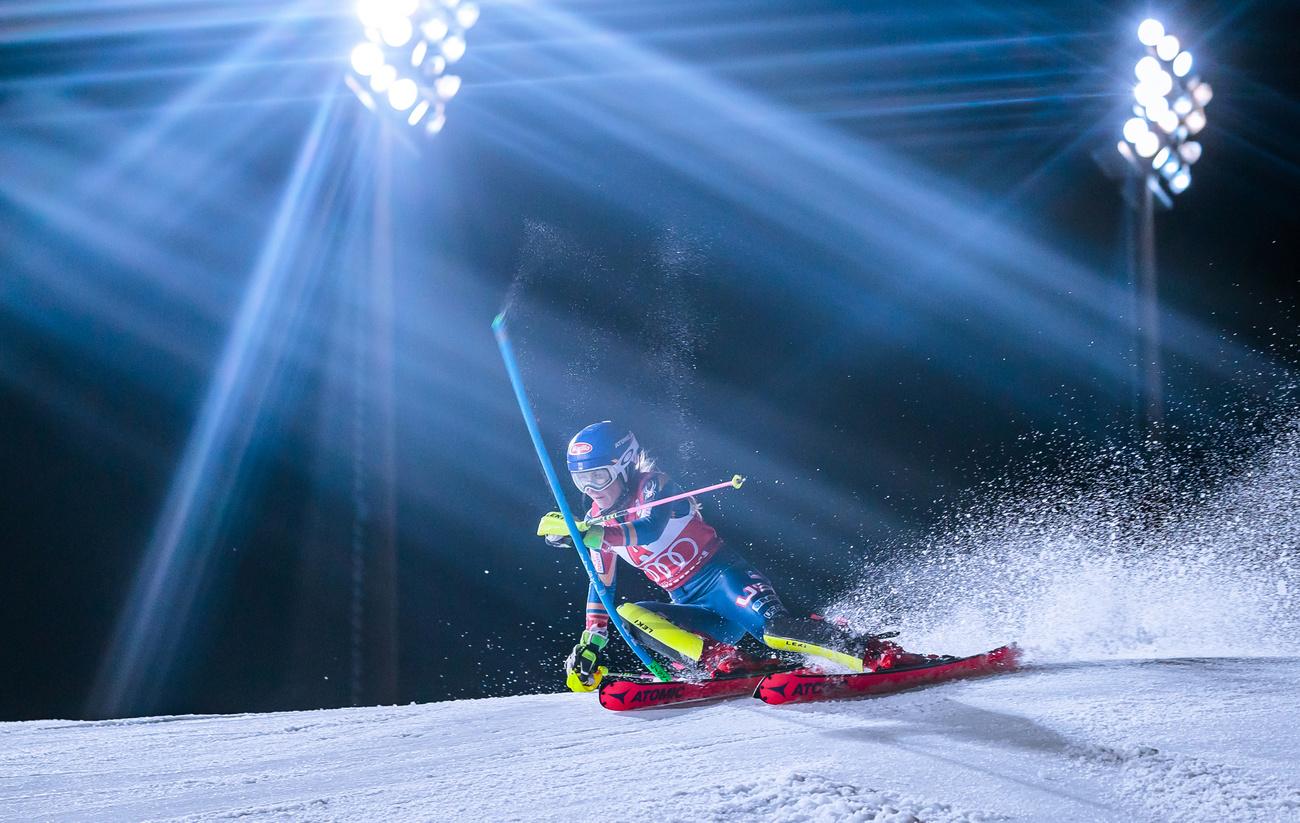 Coupe du monde : Mikaela Shiffrin s'impose lors du slalom de Flachau