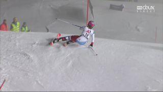 Flachau (AUT), Slalom dames, 2e manche: Michelle Gisin (SUI) [RTS]