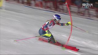 Flachau (AUT), Slalom dames, 2e manche: Mikaela Shiffrin (USA) remporte le slalom devant Schild (AUT) et Hansdotter (SUE) [RTS]