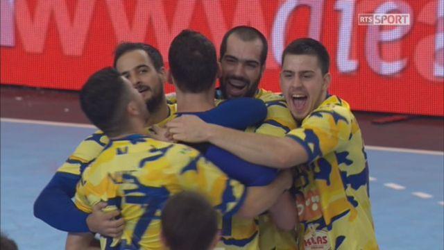 Qualifications, Suisse - Bosnie (21-24): défaite de l'équipe de Suisse [RTS]