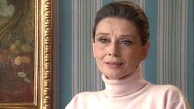Audrey Hepburn et l'Unicef. [RTS]