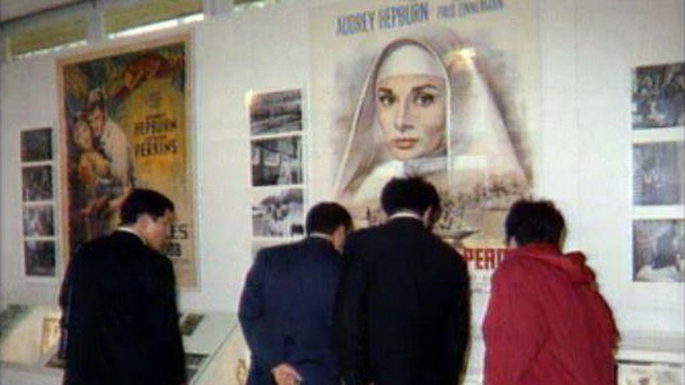 Pavillon Audrey Hepburn à Tolochenaz. [RTS]