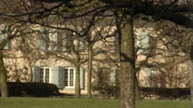 Maison d'Audrey Hepburn à Tolochenaz [RTS]