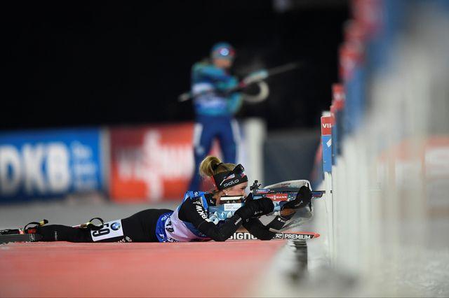 Elisa Gasparin a validé son ticket pour les prochains Jeux olympiques. [Pontus Lundahl - AFP]