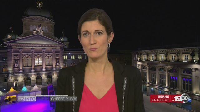 Constitution - Parité: l'analyse de Linda Bourget depuis Berne [RTS]