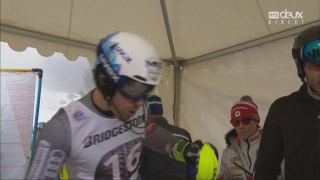 Wengen (SUI), combiné messieurs, 2e manche: victoire du Français Victor Muffat-Jeandet [RTS]