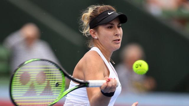 Bencic aborde le rendez-vous de  Melbourne en confiance. [William West - AFP]