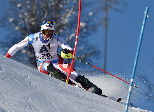 Ski alpin, slalom messieurs 1re manche, Kitzbuehel [ANGELIKA WARMUTH - Keystone]