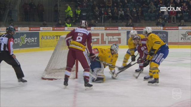 Hockey- LNA (39e j.): Genève gagne contre Davos (6-5 ap) [RTS]
