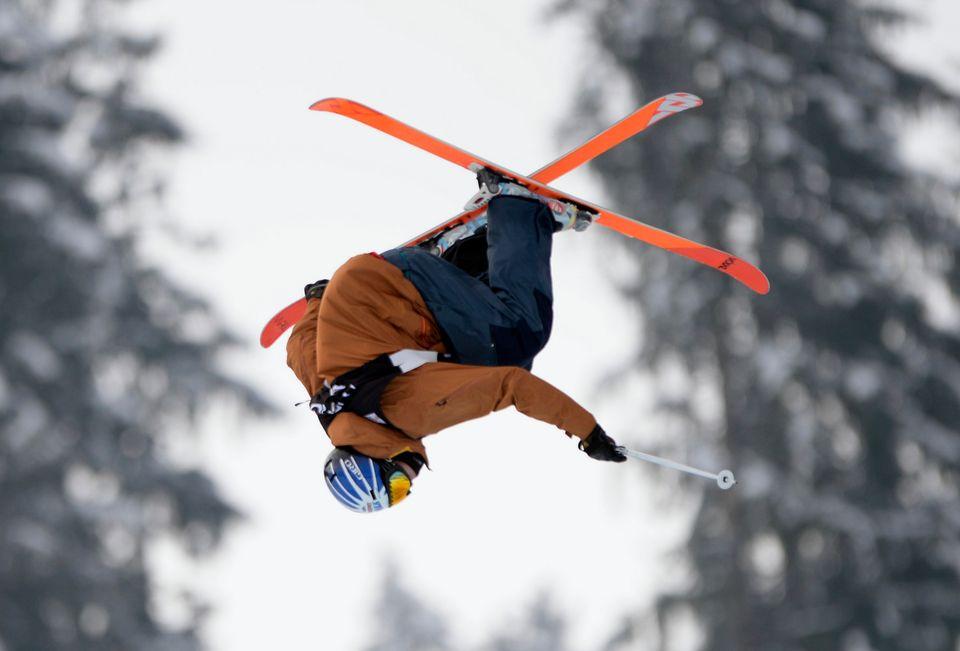 Andri Ragettli tient la forme en cette période pré-olympique. [Urs Flueeler - Keystone]