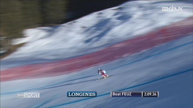 Ski alpin-Descente du Lauberhorn: victoire de Beat Feuz [RTS]