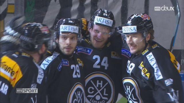 Hockey-NL, 40e journée: Lugano – Genève (7-1) [RTS]
