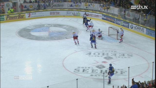 Hockey-NL, 40e journée: Davos – Kloten (2-6) [RTS]
