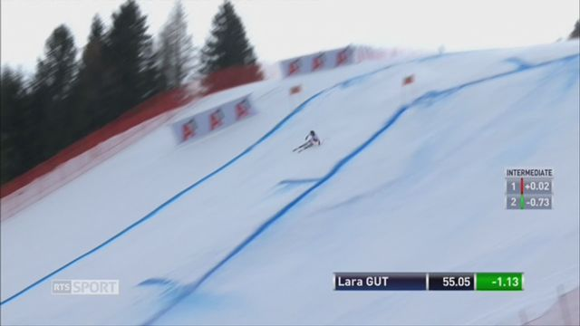 Ski alpin-Super G à Bad Kleinkirchheim: Lara Gut passe près de la victoire [RTS]