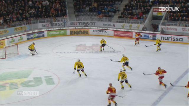 Hockey-NL, 40e journée: Bienne - Berne (4-3) [RTS]