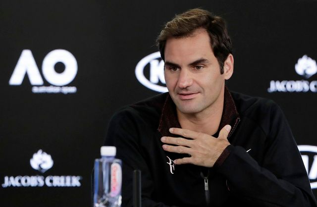 Roger Federer affrontera le Slovène Aljaz Bedene au 1er tour. [Mark Cristino - Keystone]