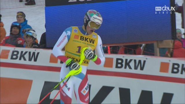 Wengen (SUI), 1re manche de slalom: Daniel Yule (SUI) se classe 5e [RTS]