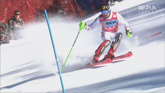 Wengen (SUI), 2e manche de slalom: Marcel Hirscher (AUT) s'impose aisément [RTS]
