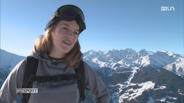 La Lausannoise Elisabeth Gerritzen participera au prochain Freeride World Tour [RTS]